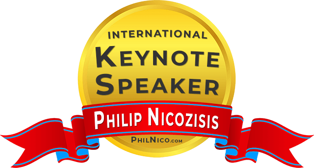 PHILIP NICOZISIS KEYNOTE GUEST SPEAKER PHIL NICO VEGAN PLANT BASED NUTRITION SPEAKING
