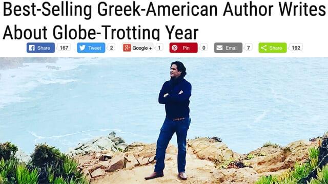 PHIL NICO Best-Selling Greek-American Author Writes About Globe-Trotting Year Philip Nicozisis