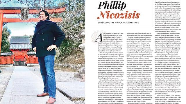 PHIL NICO HEALING OUR WORLD MAGAZINE TRAVEL BOOK PHILIP NICOZISIS