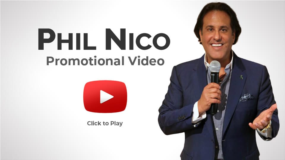 PHIL NICO PROMOTIONAL VIDEO KEYNOTE SPEAKER VEGAN TRAVEL AUTHOR MUSICIAN