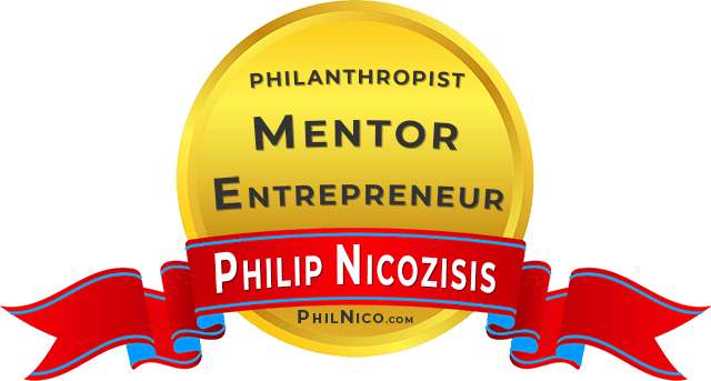 PHIL NICOZISIS PHIL NICO PHILANTHROPIST MENTOR ENTREPRENEUR PALM BEACH FLORIDA