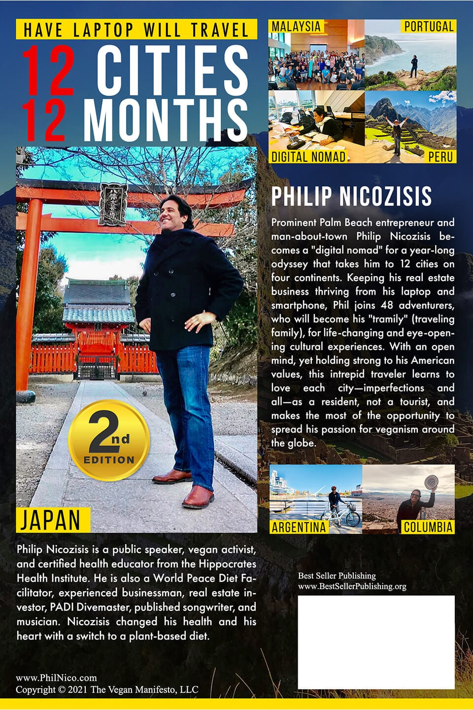 Second Edition Back Have Laptop Will Travel Philip Nicozisis
